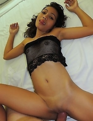 Skinny Asian babe Angelica