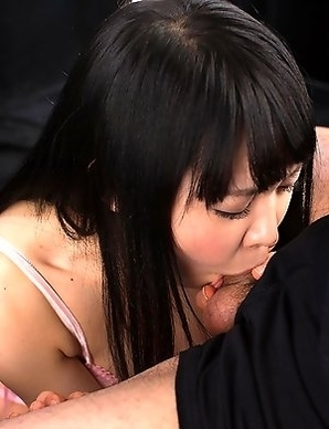Yui Kawagoe is a submissive little slut who loves to get cock shoved down her throat.